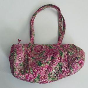 Vera Bradley Petal Pink small duffel bag